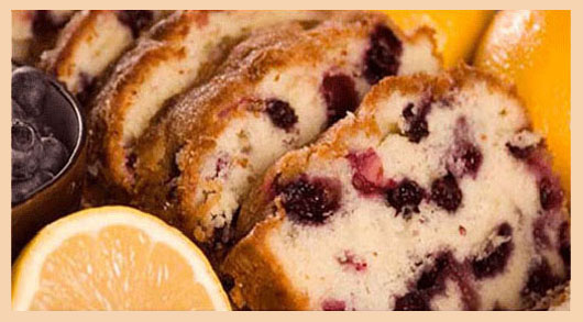 Breadwinner lemon blueberry bread